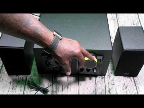 Thonet and Vander Grub - Wooden Multimedia Speakers