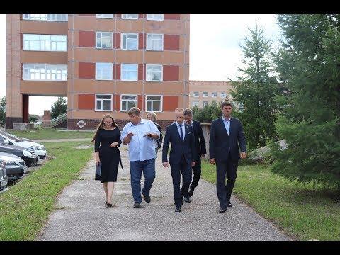 Линара  Самединова посетила  детское  отделение  Давыдовской  больницы