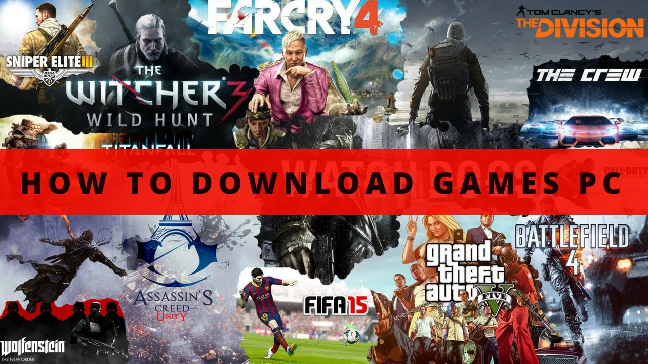 Cara download GAMES PC/LAPTOP - YouTube