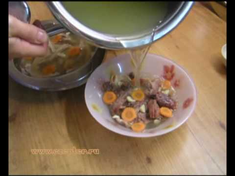рецепт холодец видео