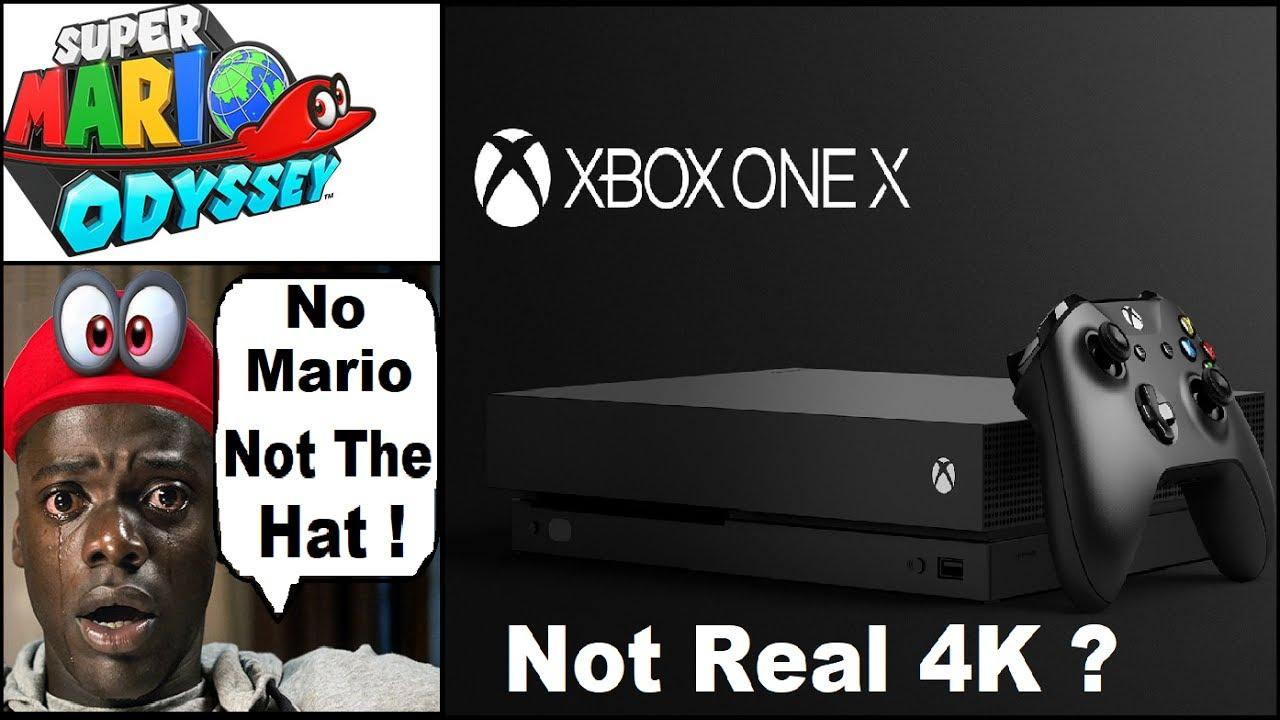 Xbox One X Has The Same 4k Ps4 Pro Has Nintendo Clarifies