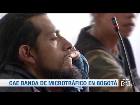 CTI captura banda que vendía droga en centros educativos de Bogotá