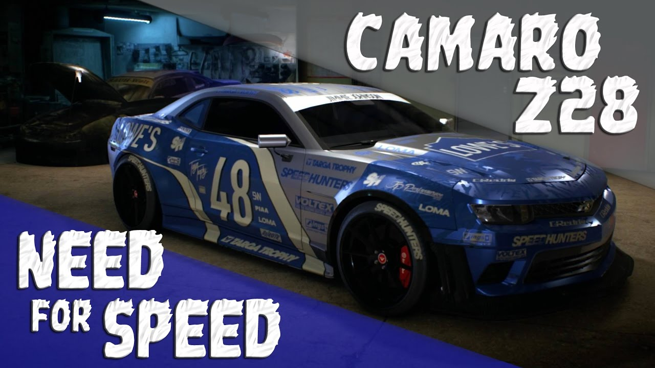 Jimmie Johnson Chevy >> Need For Speed 2015 Ps4 Chevrolet Camaro Z28 Jimmie Johnson Customization