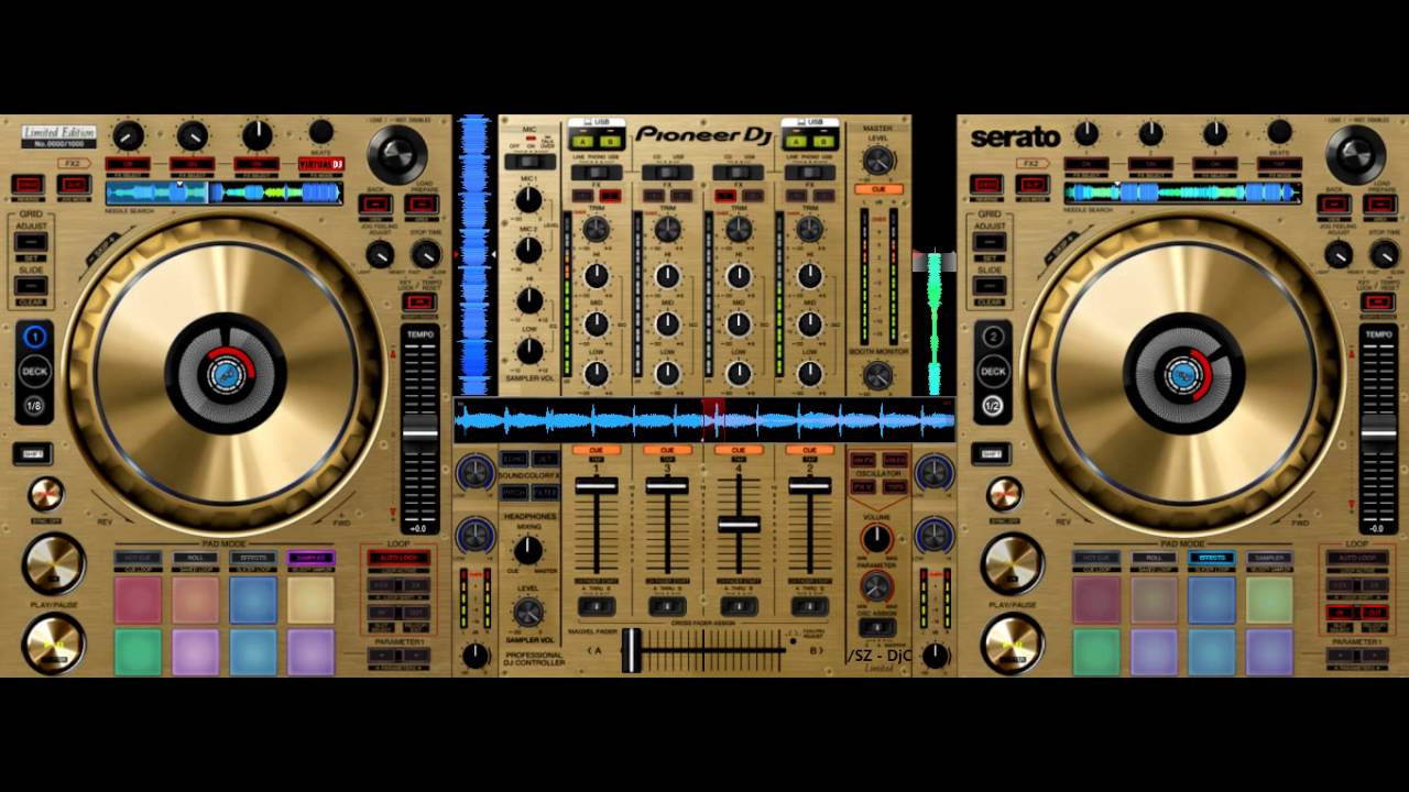 Pioneer Ddj Sz Gold : skin to virtualdj 8 pioneer ddj sz n dj controllers limited edition gold download ~ Russianpoet.info Haus und Dekorationen