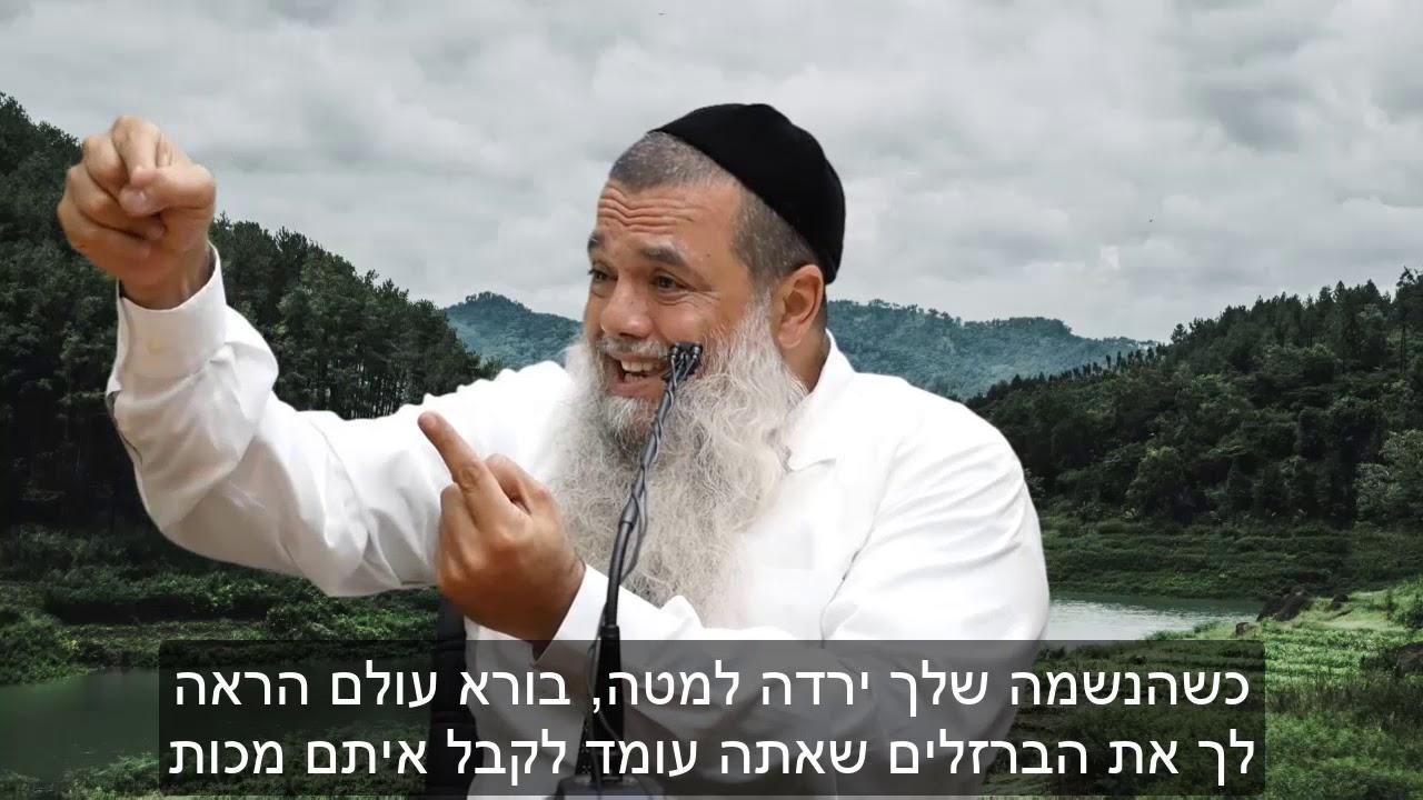 אמונה קצר: בורא עולם בונה אותך - הרב יגאל כהן HD