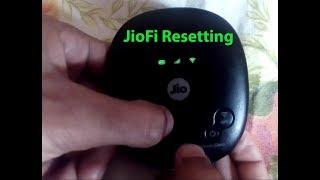 How to Reset JioFi/MiFi device