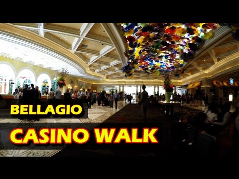 Walkthrough @ the Bellagio Hotel & Casino AND Botanical Gardens in 4K - Las Vegas