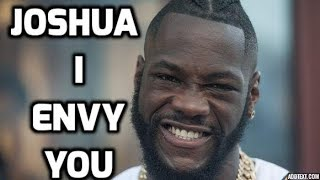Deontay Wilder is Envious, Jealous, Hateful, of Anthony Joshua's Success (The Whole Truth)