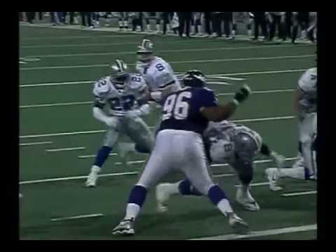 Dallas Cowboys @ Minnesota Vikings 2000 NFC Wildcard Game
