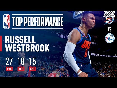 Russell Westbrook Gets a Triple-Double in Triple OT | December 15, 2017