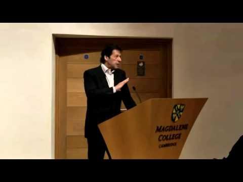 YouGov-Cambridge Forum 2011 - Imran Khan - speech on the Soft Revolution in Pakistan