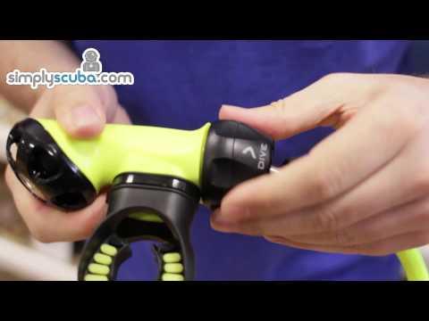 Oceanic Omega 3 Octopus - www.simplyscuba.com