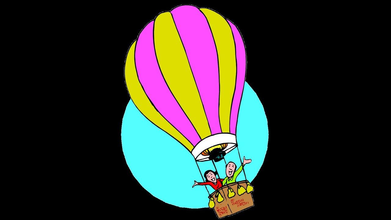 Globo de aire, dibujos animados infantiles YouTube