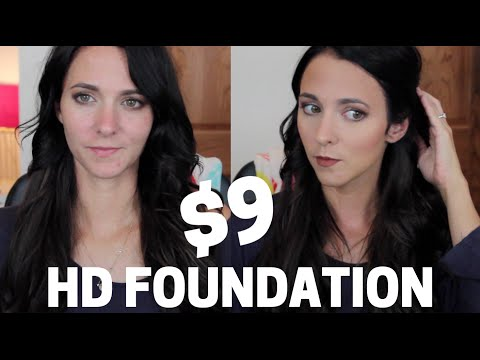 $9 FULL COVERAGE HD FOUNDATION | #AbbyReport