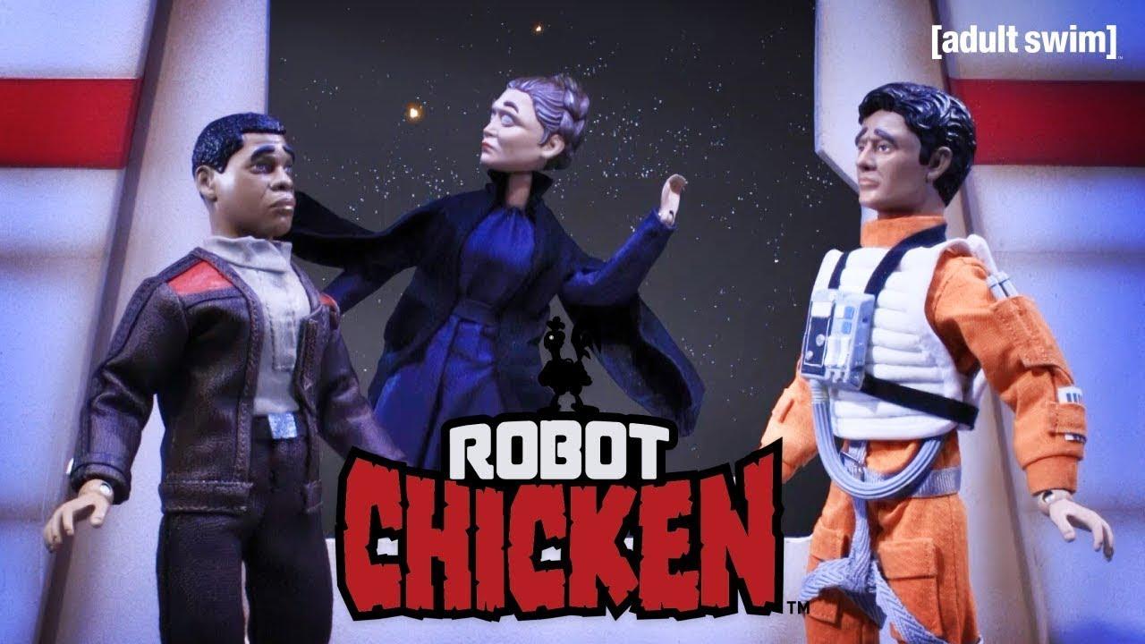 General Leia's Space Nap | Robot Chicken | adult swim