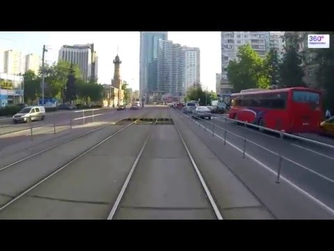 Travel Russia Moscow by tram №16