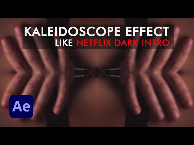 Kaleidoscope Effect Like Netflix Dark Intro in After Effects | After Effects Tutorial