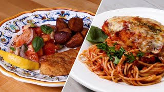 Italian Chicken Dinner 2 Ways • Tasty