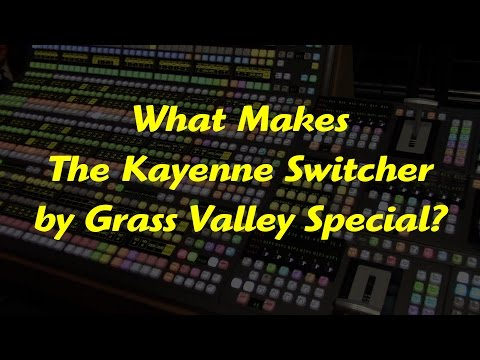 Kayenne Video Production Center by Grass Valley, A Belden Brand