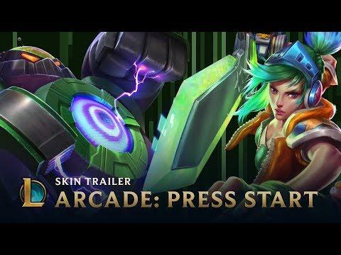 Arcade 2015: PRESS START | Skins Trailer - League of Legends