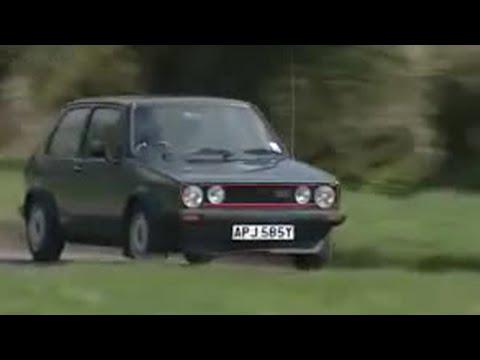 Golf GTI vs Escort XR3 - Clarkson's Car Years - BBC