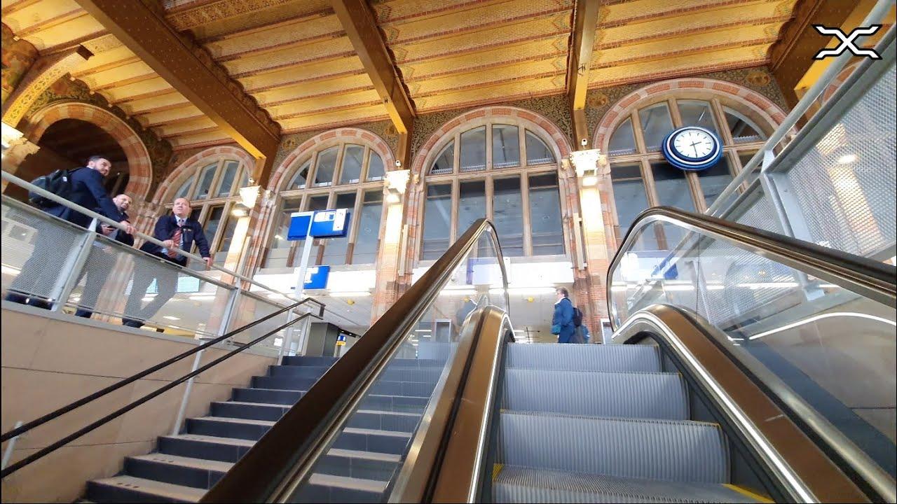 Cuyperstrap geopend op station Amsterdam Centraal van trein naar metro