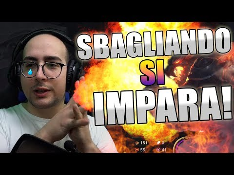 MATTEOHS | SBAGLIANDO S'IMPARA | WARWICK | LEAGUE OF LEGENDS GAMEPLAY ITA thumbnail
