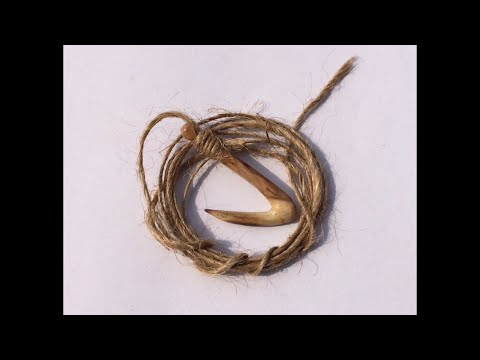 Wooden Fish Hook Fishing - DIY - Fishing Tips - Fishing Hacks
