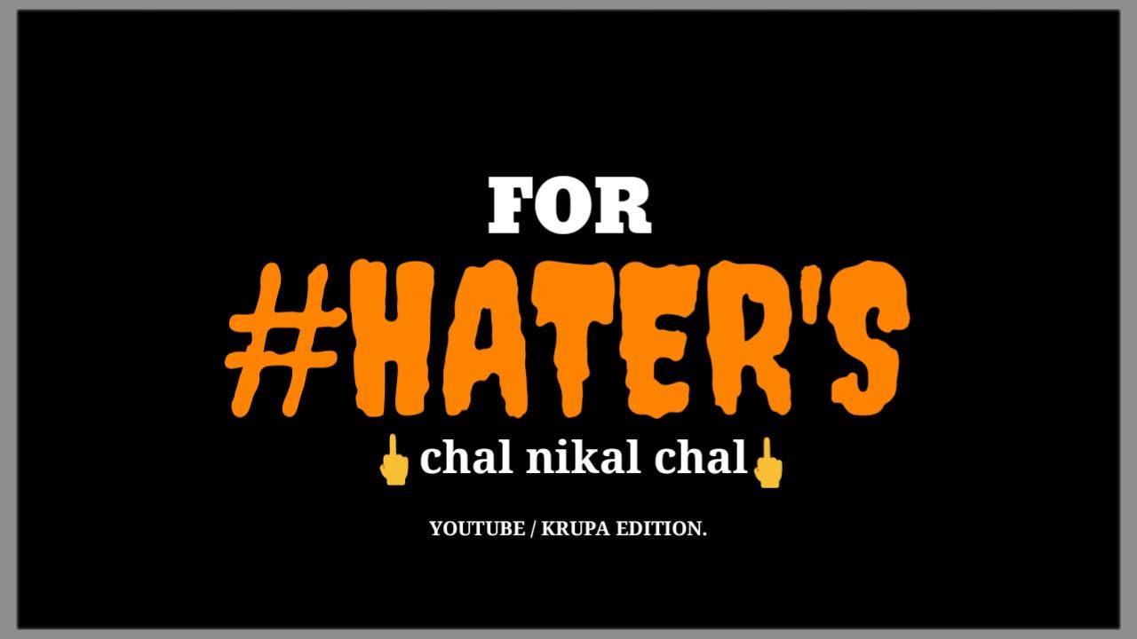 Haters Whatsapp Status Black Screen Whatsapp Status