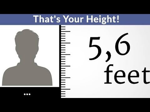 I Can Guess Your Height (2020)