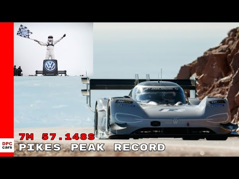 VW I.D. R Pikes Peak sets New Track Record