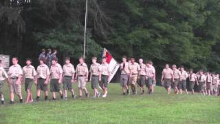 July 10, 2014 - Marching at Camp Manatoc