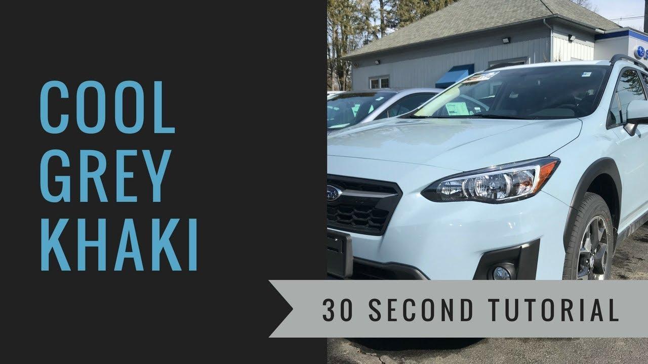 2018 Subaru Crosstrek 2.0i Premium in Cool Grey Khaki ...