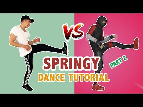 Fortnite SPRINGY Dance (Part 2) | Fortnite Dances In Real Life