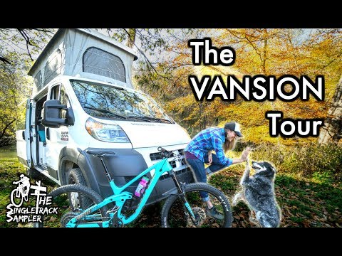 VANLIFE GOALS: Hannah's Dialed MTB Van Tour