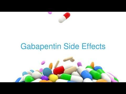 Gabapentin (Neurontin) Side Effects