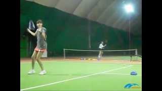 занятия большим теннисом для детей в «Дирижабле»(, 2012-02-28T23:28:48.000Z)
