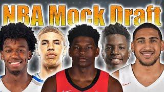 2020 NBA Mock Draft - Lottery Edition - Way Too Early!