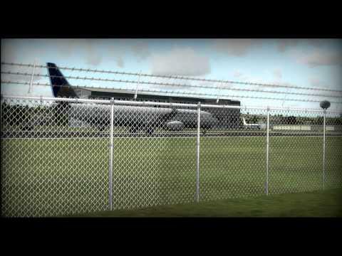 FSX : 737-9 AT Boeing Field [HD]