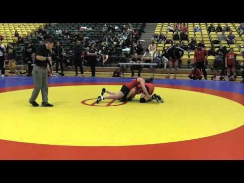 2016 Golden Bear Open: 55 kg Rachel Alder vs. Kate Richey