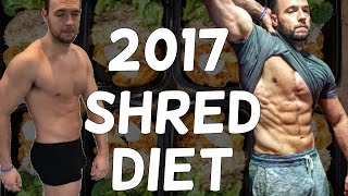 2017 Shred Diet | Full day of Eating