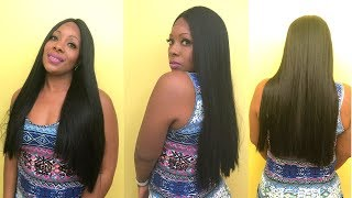 Vella Vella Natural Front Line Lace Front Wig-QUEEN   BEAUTIEBYMARK