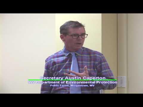 WV DEP Secretary speaks to Sierra Club, Morgantown, WV