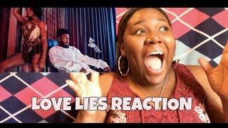 Khalid and Normani-Love Lies REACTION!!!!!