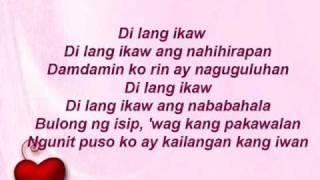 Repeat youtube video di lang ikaw with lyrics ( juris )