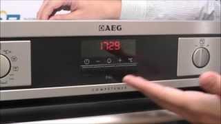 духовой шкаф AEG BS 931440 обзор