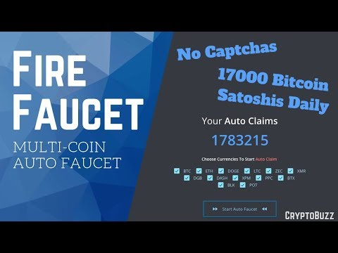 FireFaucet    High Paying Multi-Coin Auto Faucet 2019
