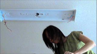 how to change a ballast in a fluorescent light