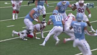 Referee Causes Fumble In Sun Bowl, UNC's Mitch Trubisky Loses Football