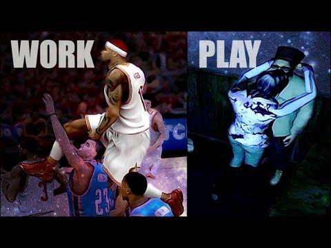 NBA 2k13 MyCAREER Playoffs - Night With Skylar Diggins - Quadruple Double - NBA Finals Gm 2